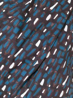Топ С Абстрактным Принтом Marni                                                                                                              коричневый цвет