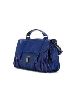 Средняя Сумка-Сэтчел Ps1 Proenza Schouler                                                                                                              синий цвет