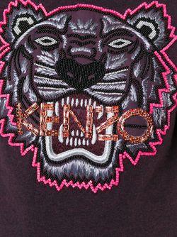 Толстовка Tiger Kenzo                                                                                                              розовый цвет