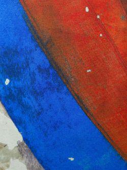 Топ Manifestation С Полосатым Принтом Vivienne Westwood Anglomania                                                                                                              красный цвет