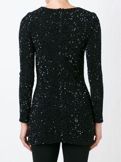 Платье С Аппликацией Manish Arora                                                                                                              черный цвет