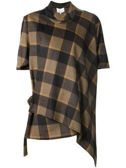 Топ С Запахом И Пряжкой 3.1 Phillip Lim                                                                                                              коричневый цвет