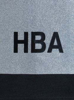 Lurex Panel Top HOOD BY AIR                                                                                                              черный цвет