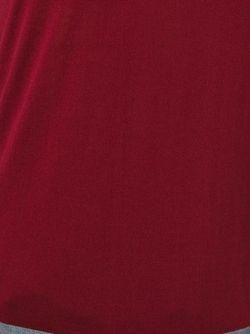 Свитер С Контрастной Панелью Giorgio Armani                                                                                                              красный цвет