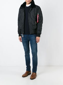 Куртка-Бомбер Alpha Industries                                                                                                              чёрный цвет