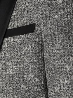 Формальный Блейзер С Контрастными Лацканами JUNYA WATANABE COMME DES GARCONS                                                                                                              серый цвет