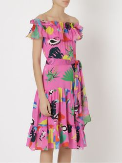 Niemeyer Midi Dress Isolda                                                                                                              розовый цвет