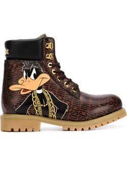 Треккинговые Ботинки Bugs And Daffy Moschino                                                                                                              коричневый цвет