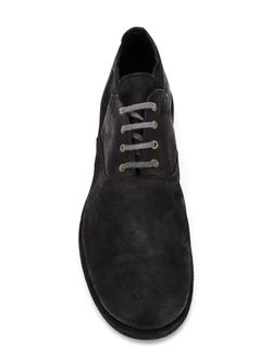 Туфли На Шнуровке GUIDI                                                                                                              черный цвет