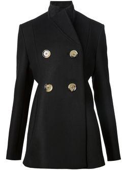 Двубортное Пальто Victoria Beckham                                                                                                              чёрный цвет