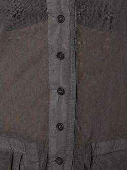 Рубашка С Неравномерным Подолом Rundholz                                                                                                              серый цвет