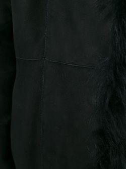 Дубленка С Меховым Воротником Drome                                                                                                              чёрный цвет