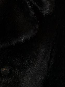 Бушлат Из Искусственного Меха Moschino                                                                                                              чёрный цвет