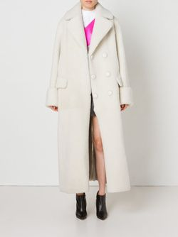 Двубортное Пальто Toga                                                                                                              белый цвет
