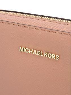 Сумка Jet Set Traveller На Плечо Michael Michael Kors                                                                                                              розовый цвет