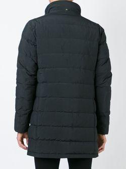Удлиненный Пуховик Herno                                                                                                              чёрный цвет