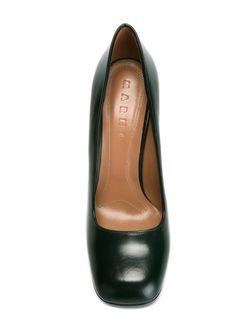 Туфли На Массивном Каблуке Marni                                                                                                              зелёный цвет