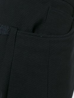 Брюки С Заниженной Шаговой Линией INDIVIDUAL SENTIMENTS                                                                                                              черный цвет