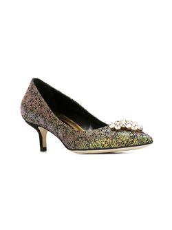Декорированные Туфли Brian Atwood                                                                                                              чёрный цвет