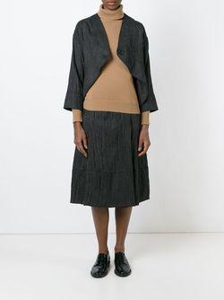 Pinstripe A-Line Skirt SOCIETE ANONYME                                                                                                              черный цвет