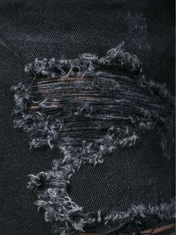 Джинсы Бойфренд Living Philipp Plein                                                                                                              черный цвет