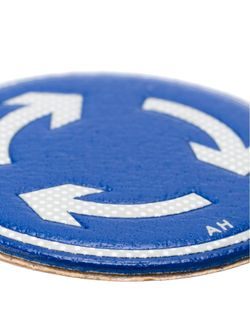Наклейка Roundabout Anya Hindmarch                                                                                                              синий цвет