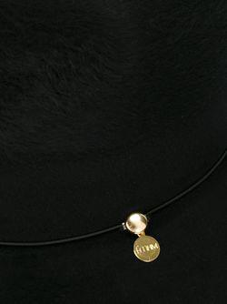 Фетровая Шляпа FEDERICA MORETTI                                                                                                              черный цвет