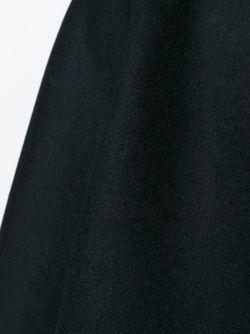Объемное Пальто С Широкими Рукавами Valentino                                                                                                              черный цвет
