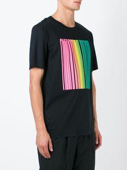 Barcode Logo T-Shirt Alexander Wang                                                                                                              чёрный цвет