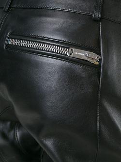 Кожаный Брюки В Байкерском Стиле Les Hommes                                                                                                              чёрный цвет