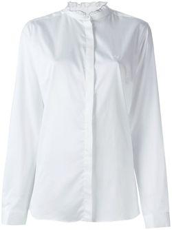 Рубашка С Рюшами На Воротнике Fay                                                                                                              белый цвет