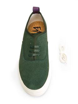Кеды Mother EYTYS                                                                                                              зелёный цвет
