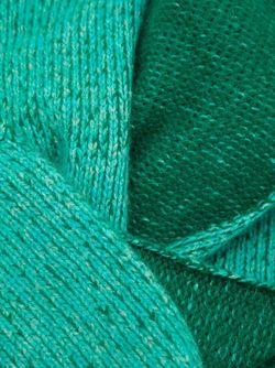 Плетёный Шарф The Elder Statesman                                                                                                              зелёный цвет