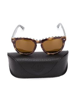 Солнцезащитные Очки В Круглой Оправе Ami Alexandre Mattiussi                                                                                                              коричневый цвет