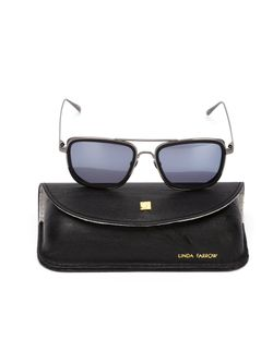 Square Frame Sunglasses Linda Farrow                                                                                                              чёрный цвет