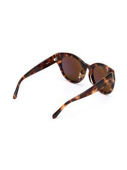 Cat-Eye Sunglasses Linda Farrow                                                                                                              чёрный цвет