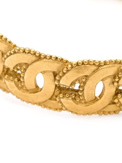 Браслет С Логотипами Chanel Vintage                                                                                                              желтый цвет