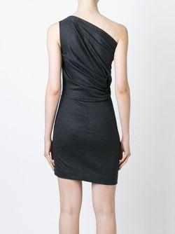 Платье На Одно Плечо Dsquared2                                                                                                              серый цвет
