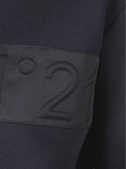 Толстовка С Логотипом No21                                                                                                              синий цвет
