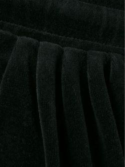 Бархатные Брюки С Заниженной Шаговой Линией Balmain                                                                                                              чёрный цвет