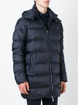 Дутая Куртка Со Съемным Воротником Michael Kors                                                                                                              синий цвет