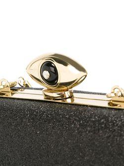 Клатч С Отблеском Evil Eye Diane Von Furstenberg                                                                                                              черный цвет