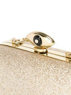 Клатч С Отблеском Evil Eye Diane Von Furstenberg                                                                                                              серебристый цвет