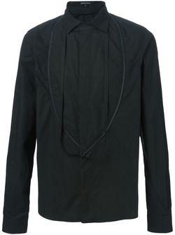 Рубашка На Молнии Ann Demeulemeester                                                                                                              чёрный цвет