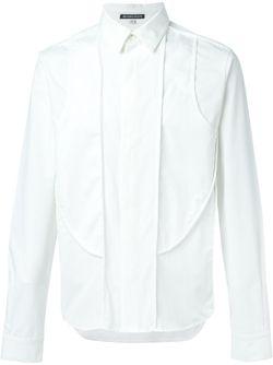 Рубашка С Панельным Дизайном Ann Demeulemeester                                                                                                              белый цвет