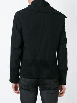 Off-Centre Fastening Jacket Ann Demeulemeester                                                                                                              чёрный цвет