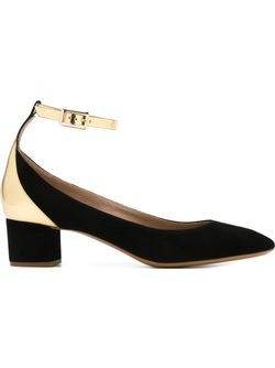 Туфли С Ремешком На Пряжке Chloe                                                                                                              чёрный цвет