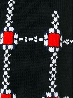 Безрукавка Крупной Вязки Raf Simons                                                                                                              чёрный цвет