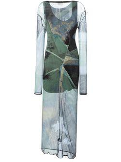 Платье Taxa Vivienne Westwood Anglomania                                                                                                              зелёный цвет