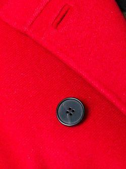 Полупальто С Поясом Valentino                                                                                                              красный цвет
